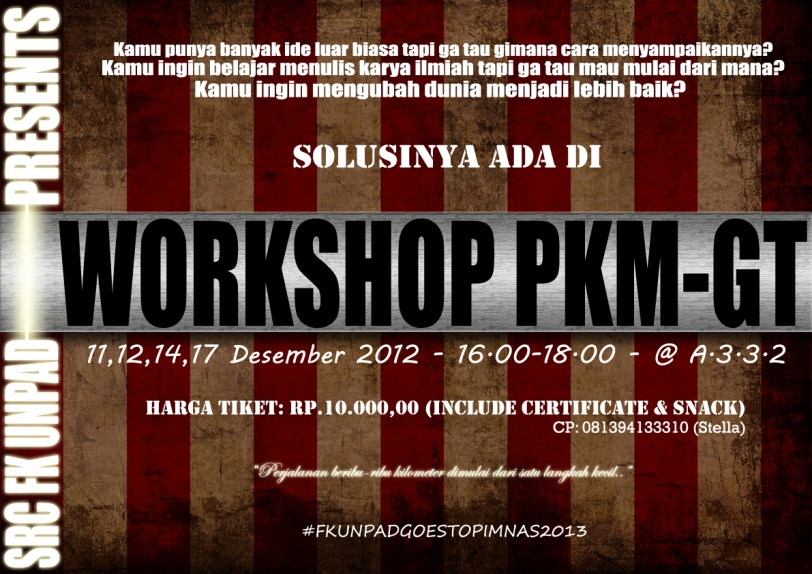 Poster Workshop PKM-GT